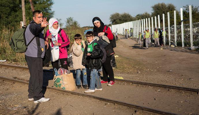 Австрия вышлет 50 тыс беженцев обратно