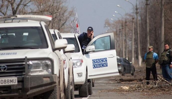 В ОБСЕ зафиксировали использование боевиками запрещенного оружия в Зайцево