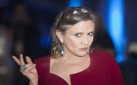 """В крови умершей актрисы Кэрри Фишер из """"Звездных войн"""" нашли несколько видов наркотиков"""