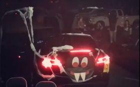 В сети показали лучший автомобиль для Хэллоуина: появилось видео