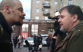 """Опубліковано повне відео конфлікту між членом """"Правого сектора"""" і блогером в Києві"""