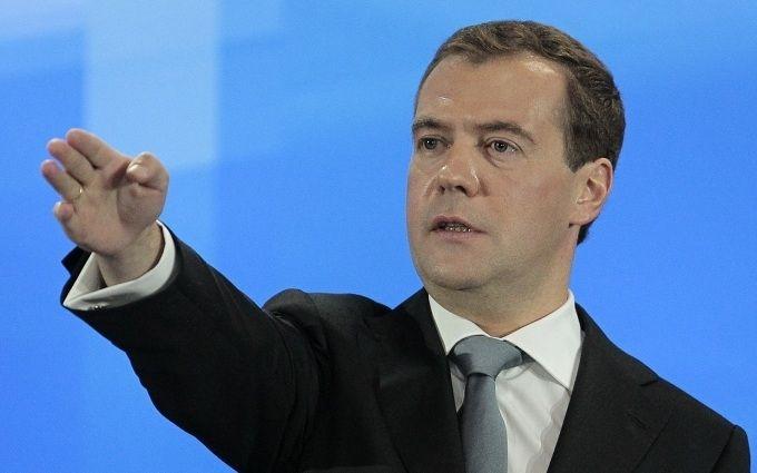 Медведєв зробив агресивну заяву на адресу України
