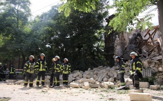 """Обвалення """"Масонського будинку"""" в Одесі: рятувальники зробили заяву"""