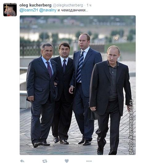 Він знав, як носити парасольку: соцмережі висміяли нового главу адміністрації Путіна (10)