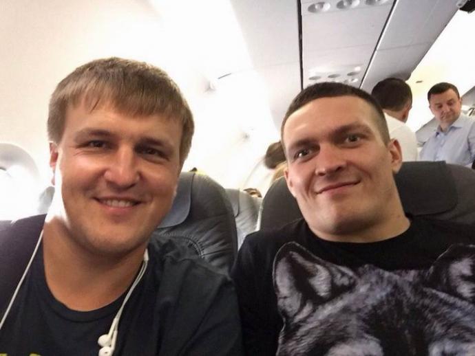 Промоутер Усика: українці повинні самі побачити, як Саша захищає титул (2)