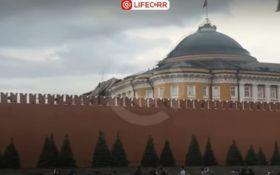 Ураган в Москве частично разрушил крышу резиденции Путина в Кремле: появилось видео