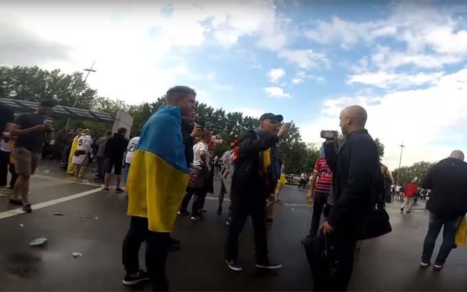 Пропагандист Путіна намагався тролити уболівальників України на Євро-2016: з'явилося відео