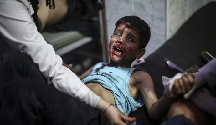 ВВС РФ за последнее время было уничтожено 25 школ в Сирии