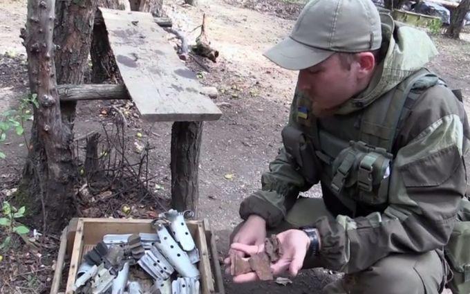 """Приймаємо """"подарунки з руського миру"""": з'явилося нове відео із зони АТО"""