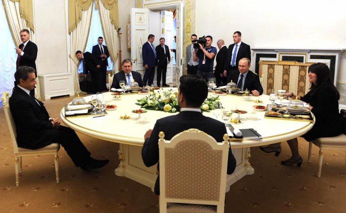 В мережі показали дивне фото з Путіним (1)