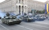 Ракети, танки і авіація: опубліковані видовищні фото і відео репетиції параду в Києві