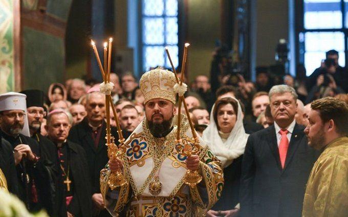 Митрополит Епіфаній офіційно став предстоятелем ПЦУ: яскраві фото з інтронізації