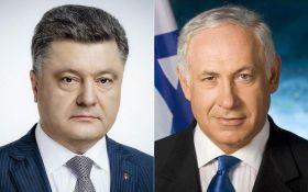 Порошенко поговорил з премьером Израиля: поздравил с праздником и пригласил в Украину