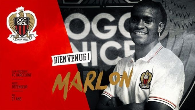 Марлон сменил «Барселону» на«Ниццу»