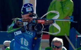 Украинец завоевал бронзовую медаль на Кубке мира по биатлону