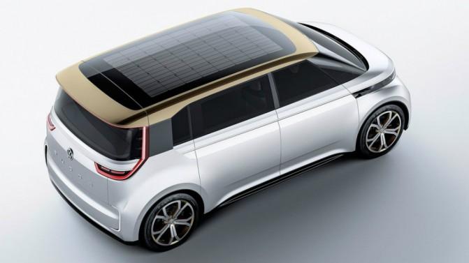 Volkswagen представила концепт электрического микроавтобуса Budd-e (5 фото, видео) (2)