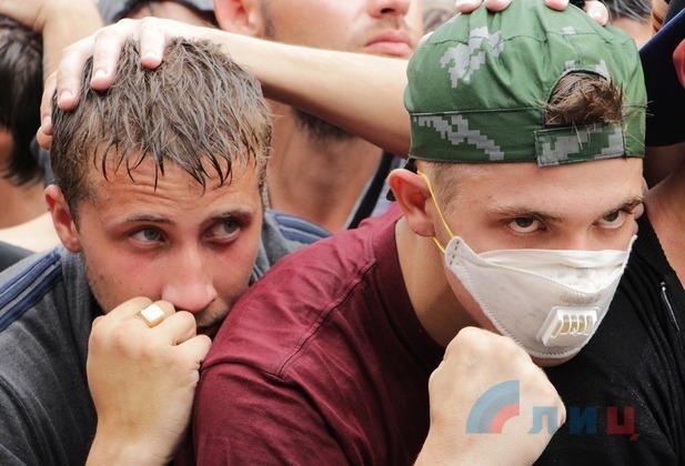 Як бойовики ЛНР вчаться боротися з миротворцями ОБСЄ: з'явилися фото (1)