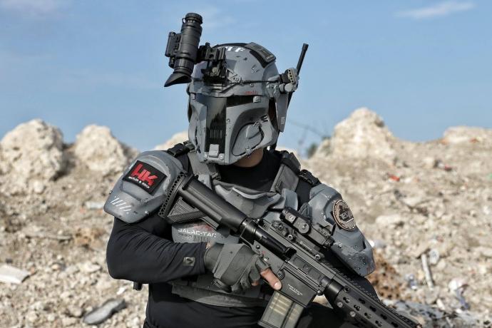 Компания AR500 Armor анонсировала баллистическую броню в стиле Star Wars (5 фото)