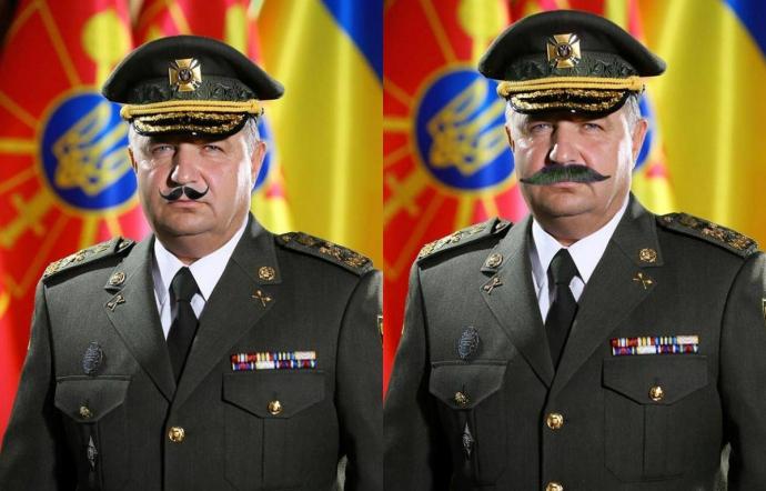 До такої форми потрібні вуса: соцмережі вибухнули фотожабами з міністром оборони (2)