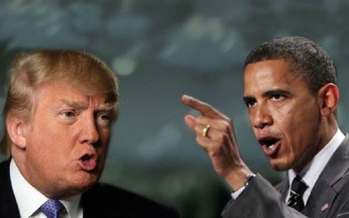 """Обама жорстко пройшовся по Трампу за """"того хлопця"""" Путіна"""