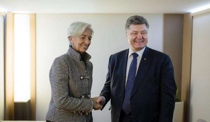 МВФ будет содействовать амбициозным реформам Украины - Лагард