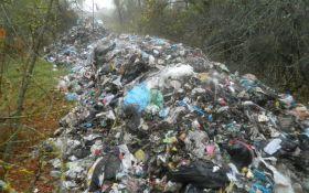 Львівське сміття засвітився ще в одній області України