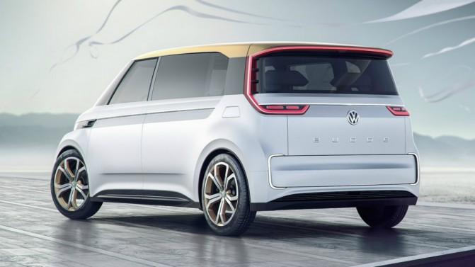 Volkswagen представила концепт электрического микроавтобуса Budd-e (5 фото, видео) (1)