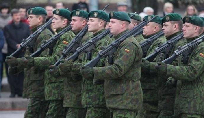 Армия Литвы начнет обучение украинских военных