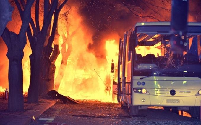 Турецкая власть назвала виновных в теракте в Анкаре
