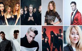 Отбор на Евровидение-2017: появились видео выступлений всех участников 18 февраля