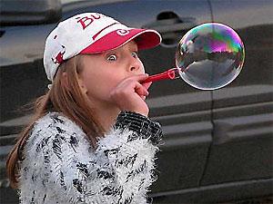В столице пройдет флэшмоб: выдувание мыльных пузырей