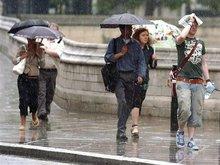 В первый день лета возможен дождь