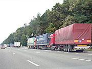 В столицу запрещен въезд грузовиков с 7:00-22:00