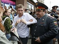 Московская милиция задержала 36 геев