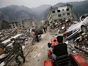 В Китае снова произошло землетрясение
