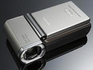 Sony HDR-TG1 - самая компактная FullHD-видеокамера