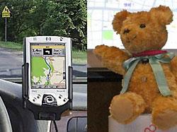 Плюшевый мишка будет работать GPS-навигатором