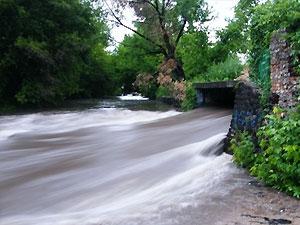 Двух любителей подземелья смыло рекой во время ливня