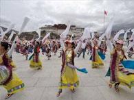 Тибетский этап эстафеты олимпийского огня завершился без происшествий