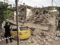 В Греции произошли два землетрясения за день