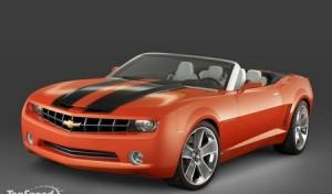 Chevrolet Camaro станет официальным автомобилем автошоу SEMA 2008