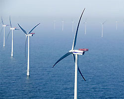 Shell продаст долю в проекте строительства крупнейшей ветряной электростанции мира