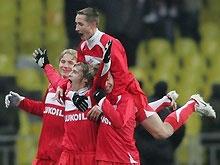 Российская Премьер-лига: Спартак нанес первое поражение в сезоне Рубину