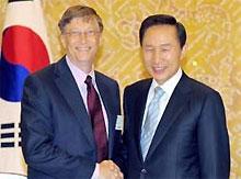 Билл Гейтс пошел в советники к президенту Южной Кореи