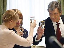 Тимошенко отправилась на «милый разговор» к Ющенко
