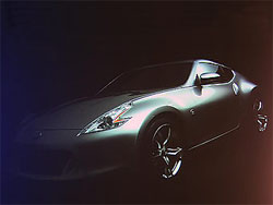 Появилась первая фотография спорткупе Nissan 370Z