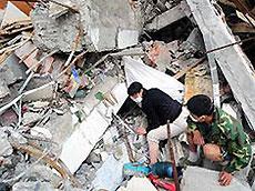 Количество жертв землетрясения в Китае превысило 41 тысячу человек