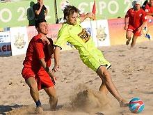 Пляжный футбол: Сезон стартует завтра