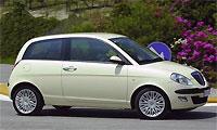 Новая Lancia Ypsilon появится в 2009 году