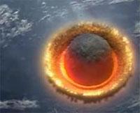 Метеорит размером с автомобиль упал в Аргентине
